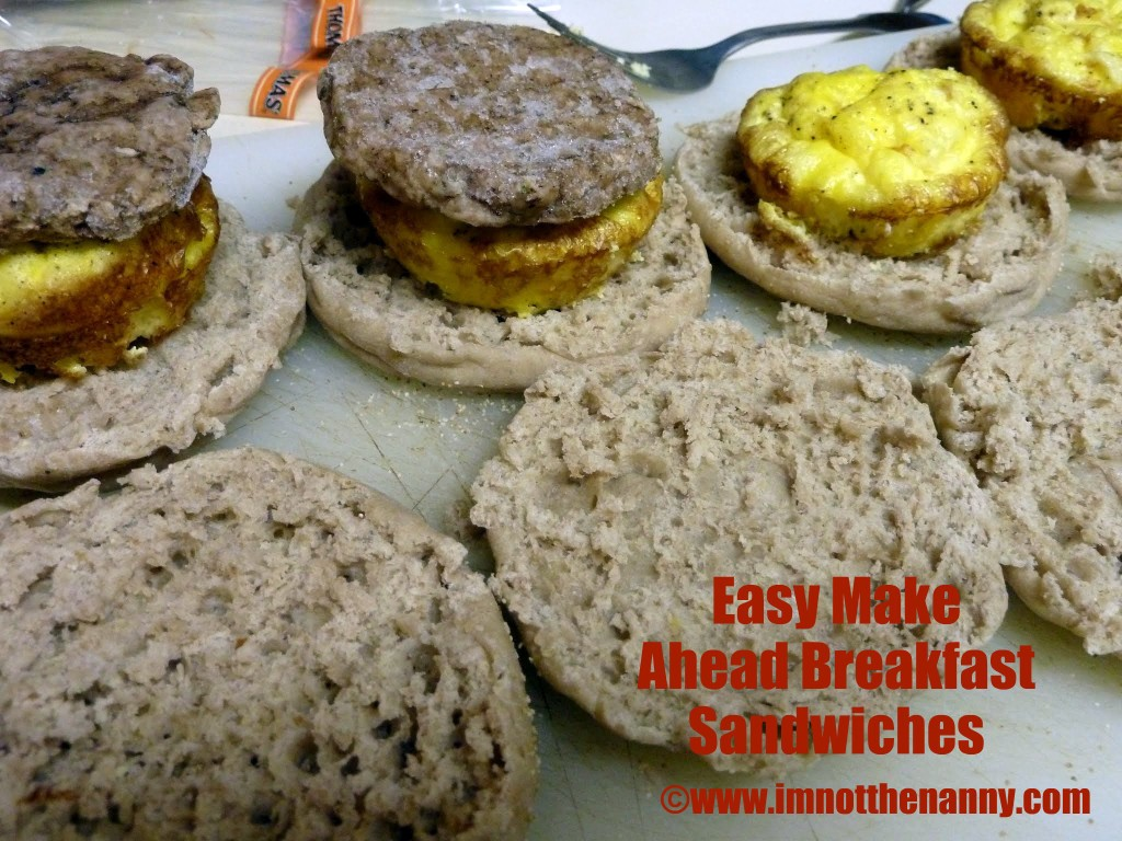Sausage Egg McMuffin Copycat Recipe
