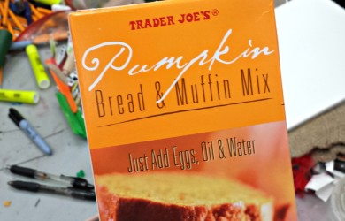 Trader Joe's Pumpkin Bread Mix