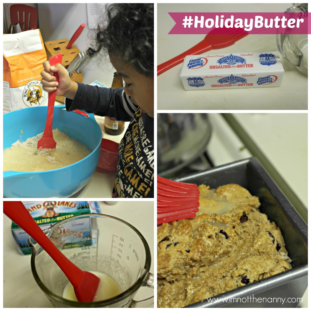 Cranberry Beer Bread Recipe Collage #HolidayButter #shop