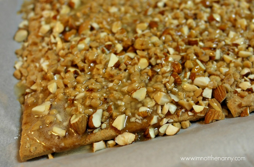 Butter Toffee Almonds #shop #BakingIdeas #cbias