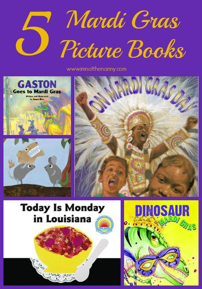 5 Mardi Gras Picture Books-I'm Not the Nanny