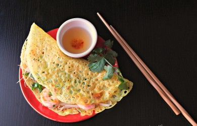 Banh Xeo Vietnamese Sizzling crepes-I'm Not the Nanny