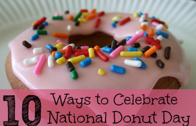 10 Ways to Celebrate National Donut Day-I'm Not the Nanny