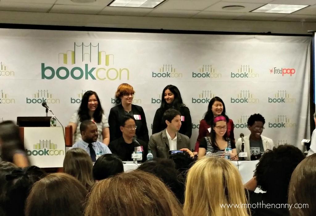 #WeNeedDiverseBooks BookCon Panelists-I'm Not the Nanny