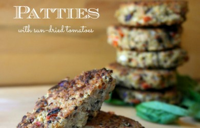 Easy Gluten Free Tuna Quinoa Patties with Sun Dried Tomatoes Recipe-I'm Not the Nanny