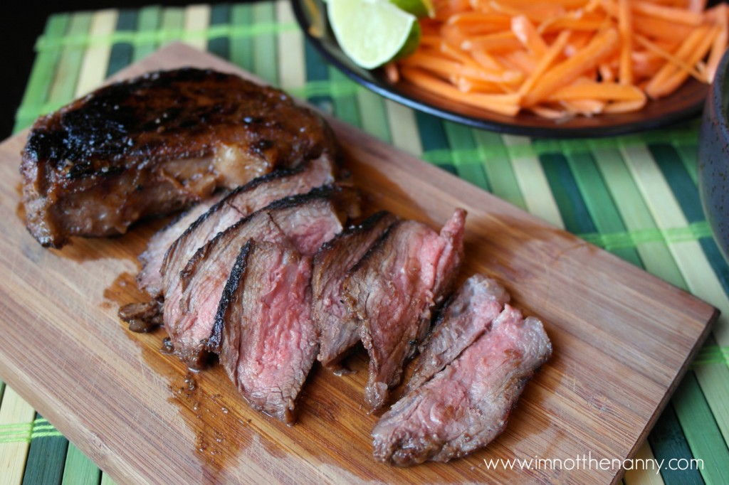 Easy Vietnamese Steak-I'm Not the Nanny