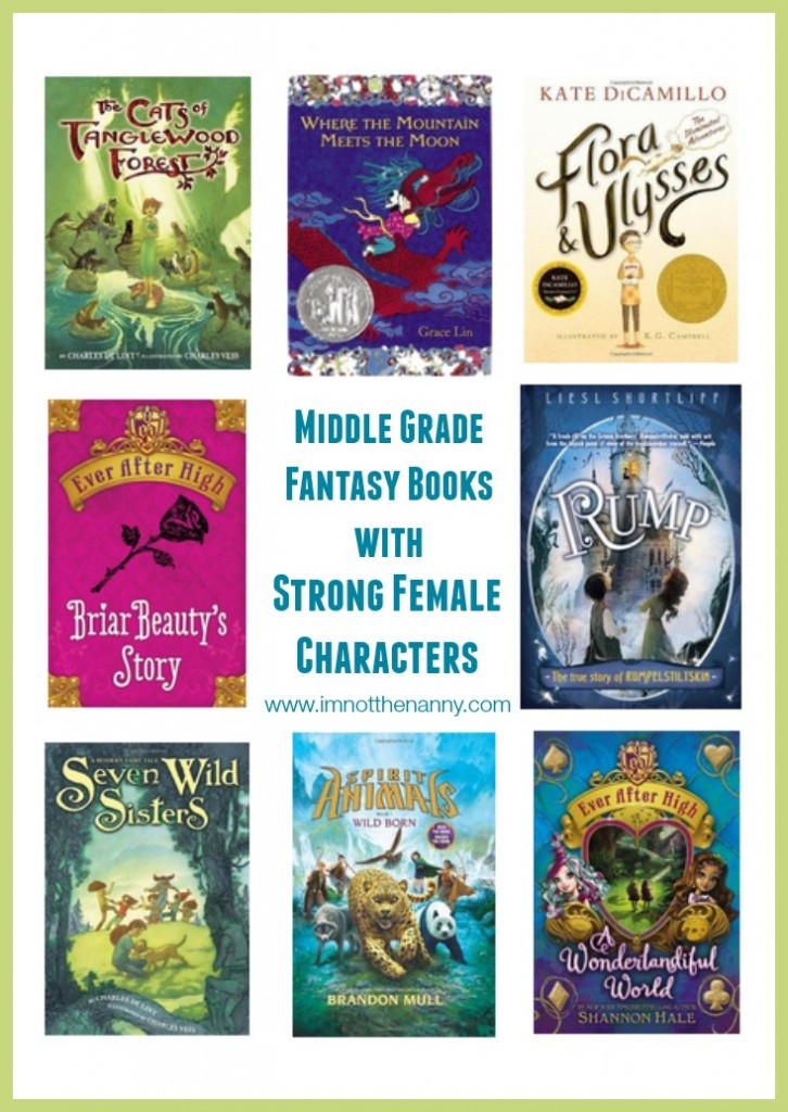 Middle Grade Fantasy Books with Strong Female Characters-I'm Not the Nanny