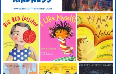 Celebrate World Kindness Day with 7 Books That Teach Kids Kindness-I'm Not the Nanny