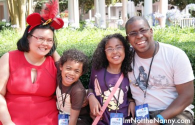 Family at Disney Social Media Moms
