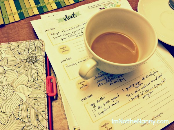 Swipe File from How to Be a Productive Writer via I'm Not the Nanny