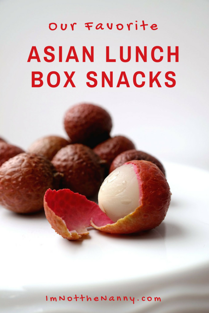 Fave Asian Lunch Box Snacks via I'm Not the Nanny #AsianMomBloggers