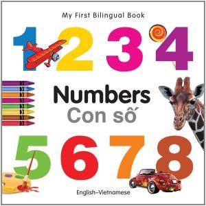 Numbers English-Vietnamese Bilingual Book
