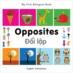 Opposites English-Vietnamese Bilingual Book