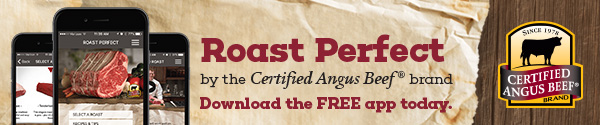 Roast Perfect app from Certified Angus Beef