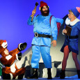 Rudolph, Hermey, and Yukon in Rudolph the Red-Nosed Reindeer at the Lyric