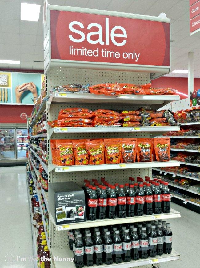 REESE'S & Coca-Cola Display at Target