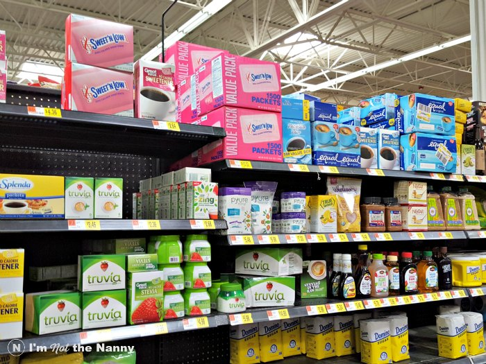 Truvia at Walmart