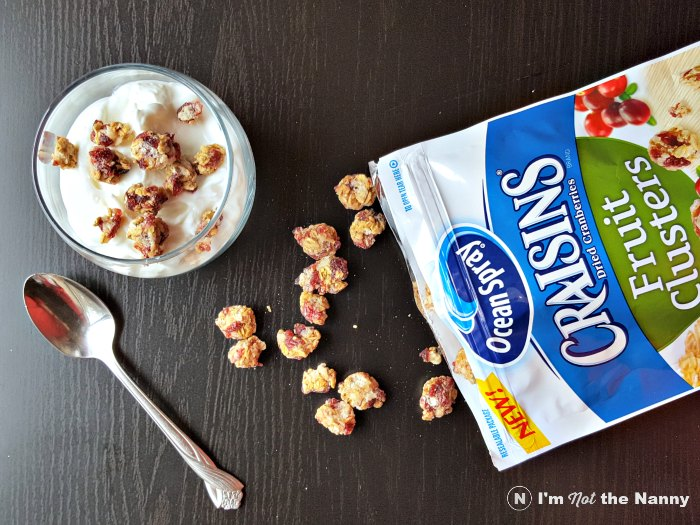 Yogurt with Craisin Clusters #BetterWithCraisins