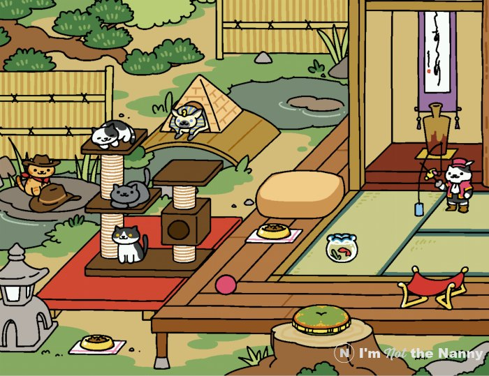 meet our neko atsume rare cats i 39 m not the nanny. Black Bedroom Furniture Sets. Home Design Ideas