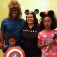 Family in DisneySMMC Photobooth