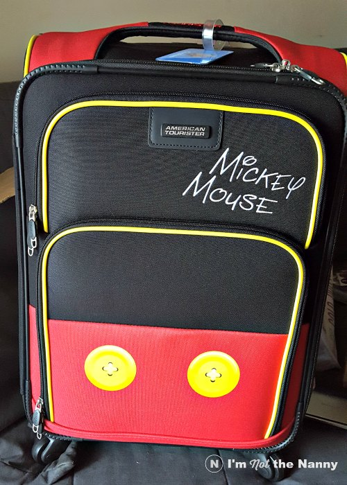 Mickey Mouse Pants Suitcase by American Tourister