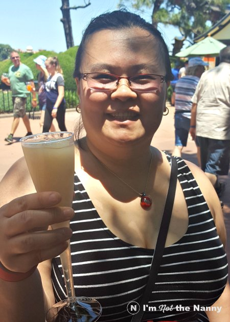 the noodles from Epcot Japan, but I had to get my a plum wine slushi ...