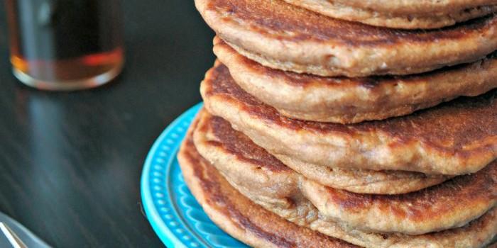 Stack of Chocolate Hazelnut Pancakes