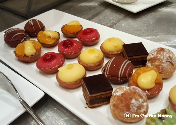 Mini pastries from BlogHer Food lunch