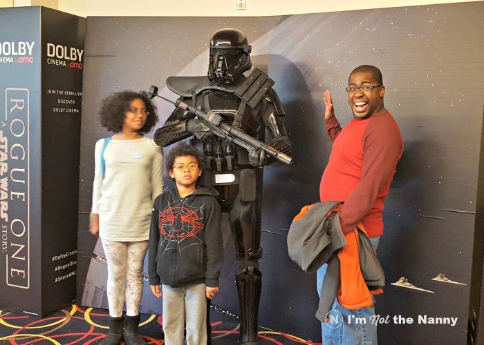 Star Wars Rogue One Dolby Cinema Display