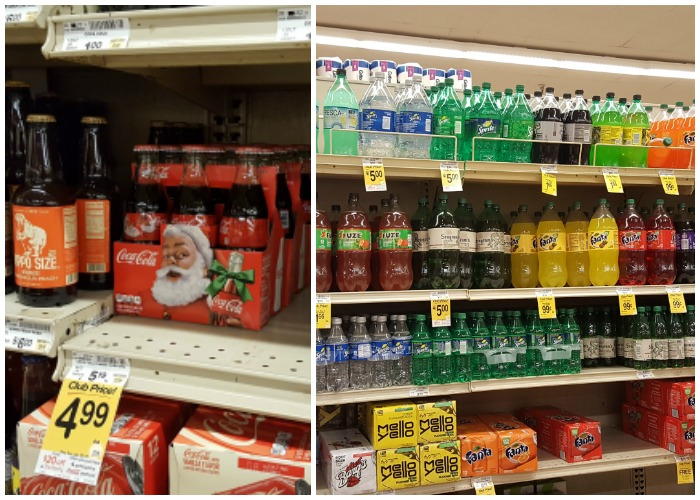 Coca Cola products at Safeway