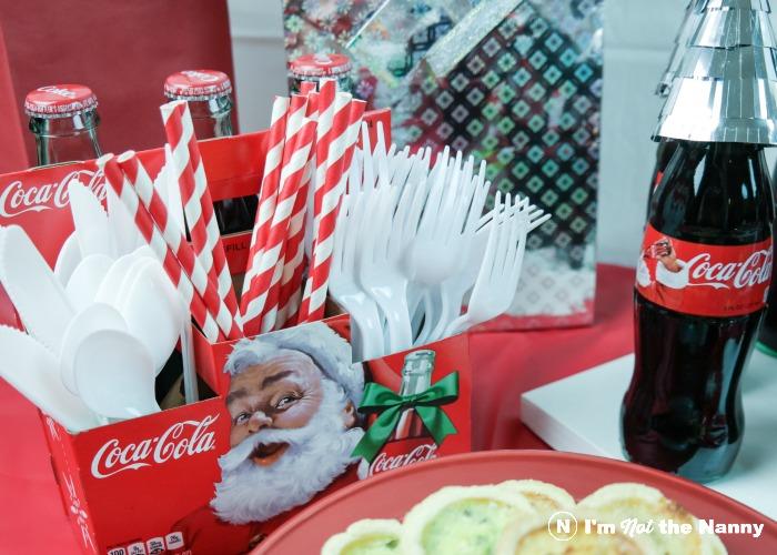 Coca Cola utensil holde