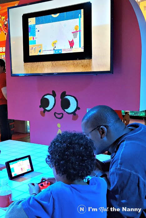 Snipperclips on Nintendo Switch