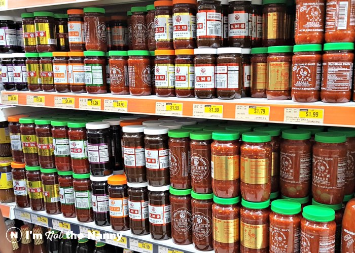Chili pastes at Hmart