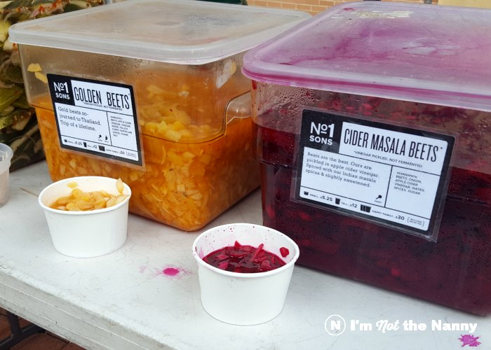 Pickled beets two ways