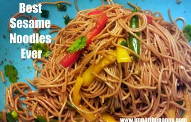 Best Sesame Noodles Ever-I'm Not the Nanny