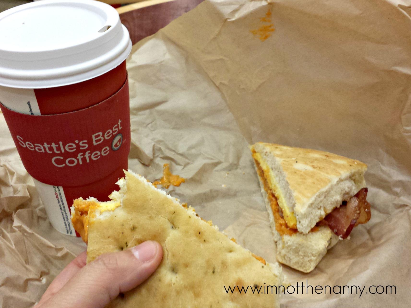 Breakfast with Seattles Best at #Rubi2Go #shop #cbias
