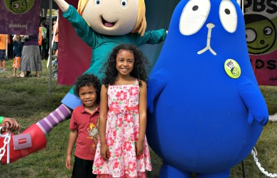 Kids with Peg + Cat