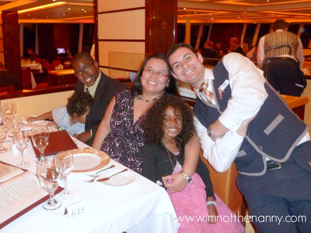 Table Manners Carnival Cruise Family