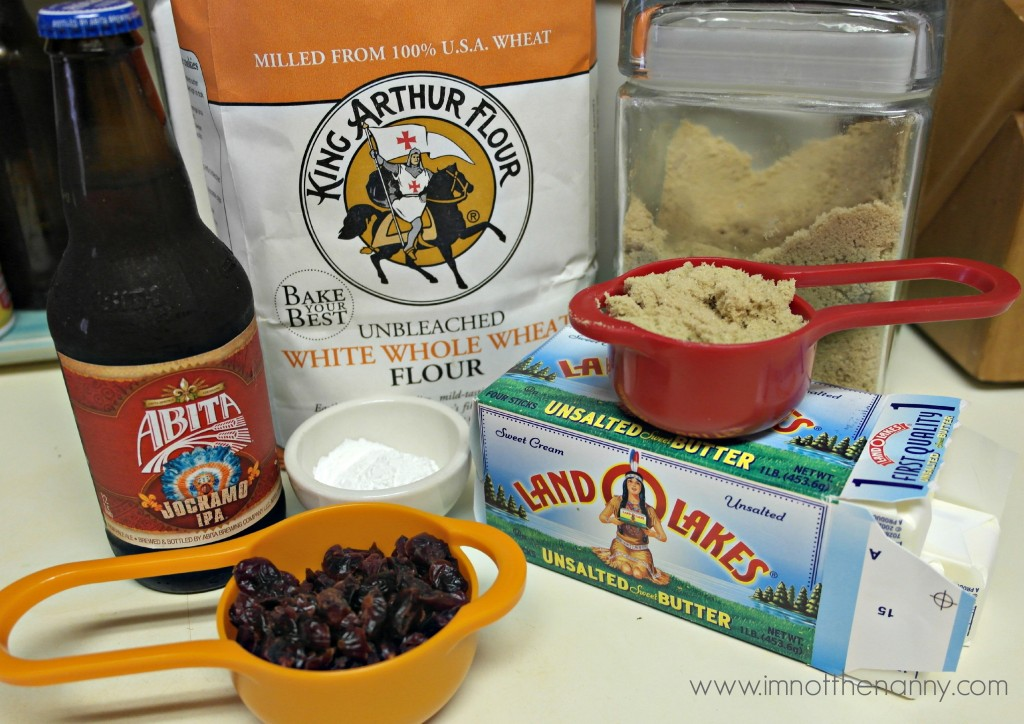 Cranberry Beer Bread Ingredients #HolidayButter #shop
