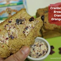 Cranberry Beer Bread & Cran-Orange Butter