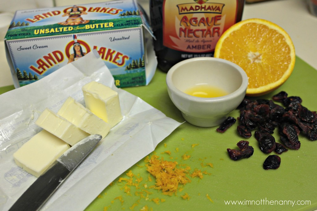 CranOrange Butter Ingredients #HolidayButter #shop