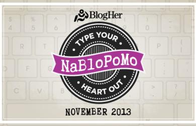 NaBloPoMo November