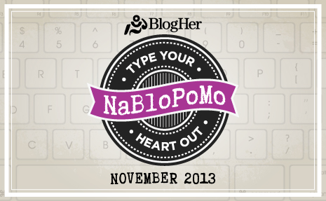 NaBloPoMo November