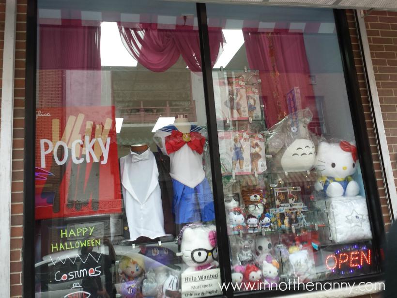 Philadelphia Chinatown Asia Crafts Window