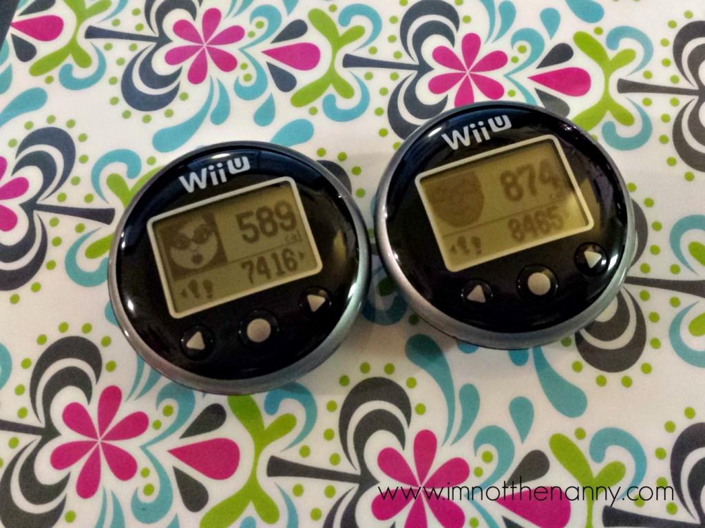 Wii Fit U Meter with Mii