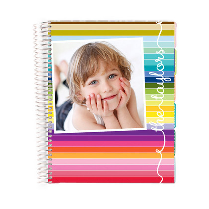 Erin Condren Striped Planner