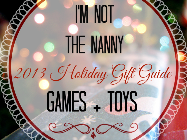 Holiday Gift Guide Games Toys for Kids