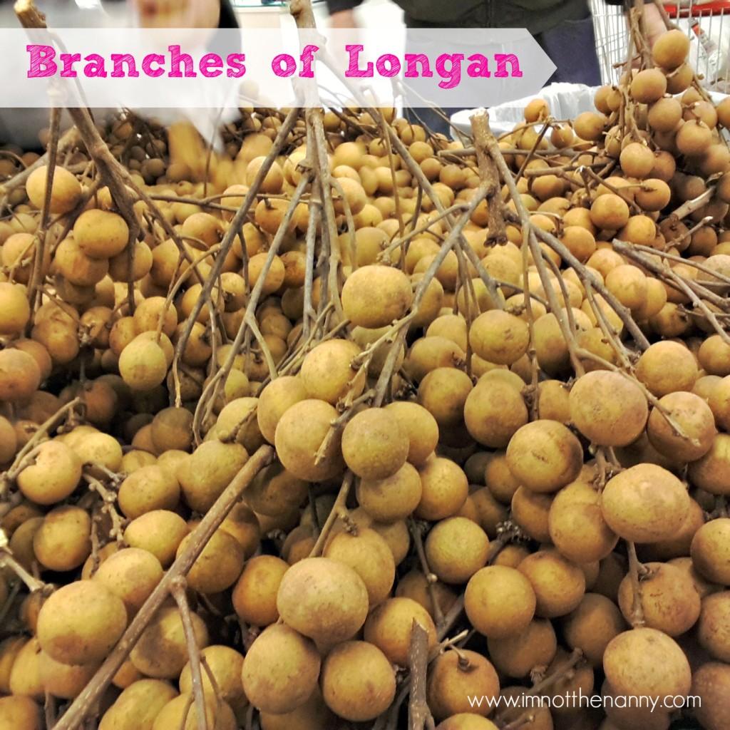 Longan at Hmart - I'm Not the Nanny