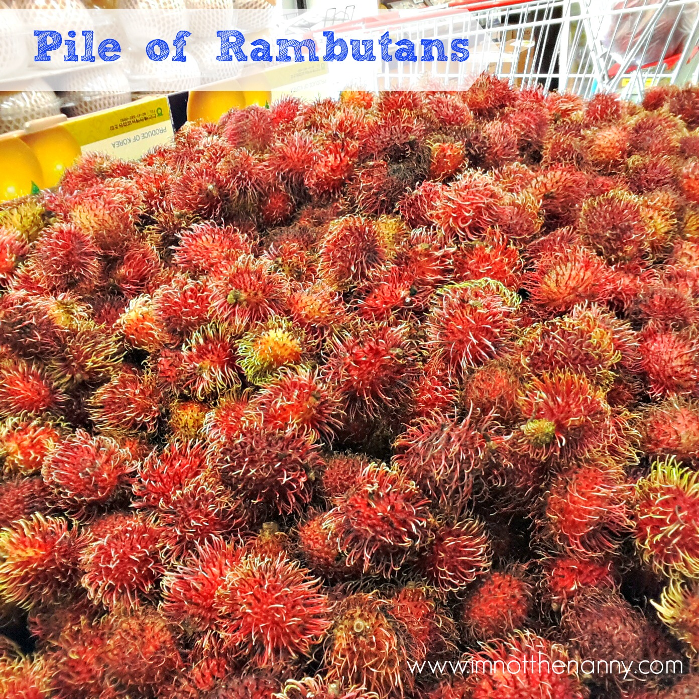 Rambutans at Hmart