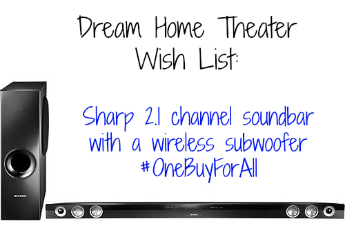 Sharp Soundbar and subwoofer at Best Buy- I'm Not the Nanny #OneBuyForAll #shop #cbias